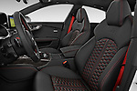 Front seat view of 2015 Audi RS7  quattro tiptronic Prestige 5 Door Hatchback front seat car photos