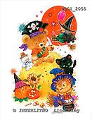 GIORDANO, CUTE ANIMALS, LUSTIGE TIERE, ANIMALITOS DIVERTIDOS, Halloween, paintings+++++,USGI2055,#AC#