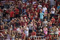 Hawgs Illustrated/BEN GOFF <br /> Arkansas vs Texas A&M soccer Thursday, Sept. 20, 2018, at Razorback Field in Fayetteville.