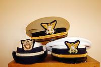 California, Point Arena, Coast Guard House, Naval caps