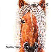 Simon, REALISTIC ANIMALS, REALISTISCHE TIERE, ANIMALES REALISTICOS, paintings+++++Card_OliviaH_DartmoorPony,GBWR125,#a#, EVERYDAY,horse
