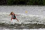 September 12, 2014:  Scenes from the WWA Wakeboard World Championships at Mills Pond Park in Fort Lauderdale, FL.  Amateur Women's Wakeskate. Kaitlyn Adams USA  wins the event.  Liz Lamont/ESW/CSM