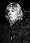 Kim Novak at her Hotel on January 17, 1983 in New York City.