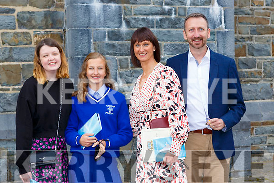 Jane Keating who made her at St Olivers NS confirmation on Saturday with Paul and Gina Keating and Abbie O'Sullivan