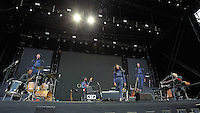 Pictured: Corinne Bailey Rae Saturday 18 June 2016<br /> Re: Lionel Richie, All The Hits concert at the Liberty Stadium, Swansea, Wales, UK