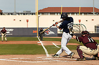 SAN ANTONIO, TX - MARCH 5, 2019: The University of Texas at San Antonio Roadrunners fall to the Texas State University Bobcats 8-3 at UTSA Roadrunner Field. (Photo by Jeff Huehn)