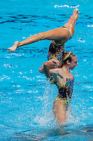 Team UnitedStatesofAmerica USA<br /> Synchro Women's Team Free Final Free Routine - Kazan Arena<br /> Day08 31/07/2015<br /> XVI FINA World Championships Aquatics Swimming<br /> Kazan Tatarstan RUS July 24 - Aug. 9 2015 <br /> Photo A.Masini/Deepbluemedia/Insidefoto
