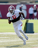 Arkansas running back Rakeem Boyd carries the ball Tuesday, Sept. 8, 2020, during practice at the university football practice fields in Fayetteville. Visit nwaonline.com/200909Daily/ for today's photo gallery.<br /> (NWA Democrat-Gazette/Andy Shupe)