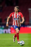 Filipe Luis of Atletico de Madrid in action during the La Liga 2017-18 match between Atletico de Madrid and CD Leganes at Wanda Metropolitano on February 28 2018 in Madrid, Spain. Photo by Diego Souto / Power Sport Images