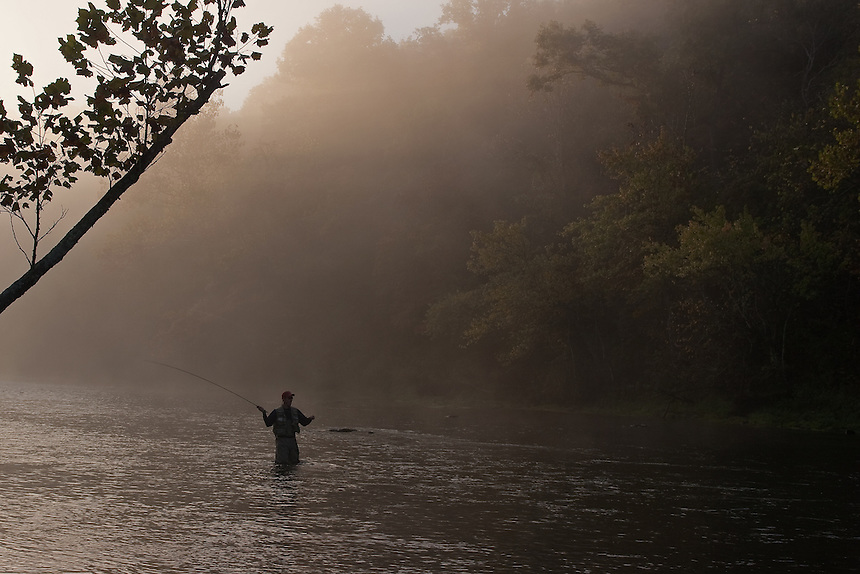 Morning on the Norfork