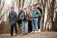 Fans of Barking FC are seen at Dulwich Hamlet Football Club - 07/01/89 - MANDATORY CREDIT: Gavin Ellis/TGSPHOTO - Self billing applies where appropriate - Tel: 0845 094 6026