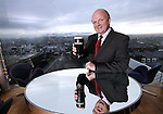 GUINNESS STOREHOUSE Managing Director, Paul Carty at the announcement that GUINNESS STOREHOUSE reached the one million visitor mark in 2009. As a result of these figures GUINNESS STOREHOUSE looks set to retain its position as Ireland's No. 1 visitor attraction and as the third biggest brand experience in the world. This year GUINNESS STOREHOUSE is also celebrating 10 years since welcoming its first visitors back in November 2000. Since then, it is estimated that over 7.5 million people from all over the world have visited this unique Guinness experience, set in the heart of St. James's Gate Brewery. Pic Robbie Reynolds / CPR
