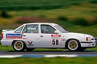 1991 British Touring Car Championship. #58 Jeff Wilson (GBR). HWR Motorsport. Vauxhall Belmont.