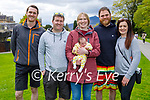 Enjoying a stroll in the Killarney National park on Sunday, l to r: Daniel Culloty, Paul and Elaine and baby Elle Marie Giltrap, Sean Culloty and Michelle Mangan.