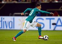 Football International,international friendly, National Team, <br />Germany (GER) - spain  (ESP) 1-1 in Esprit-Arena in Duesseldorf 23. MŠrz  2018<br />Mesut OEZIL (GER) <br />, Duesseldorf<br /><br /><br /><br /><br /><br /> <br /> *** Local Caption *** © pixathlon<br /> Contact: +49-40-22 63 02 60 , info@pixathlon.de