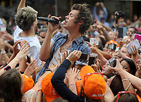 SMG_Harry Styles_NY1_NBC Today_082313_08.JPG<br /> <br /> NEW YORK, NY - AUGUST 23: Harry Styles of One Direction performs on NBC's 'Today' at Rockefeller Plaza on August 23, 2013 in New York, New York.  (Photo By Storms Media Group<br /> <br /> People:  Harry Styles<br /> <br /> Transmission Ref:  NY1<br /> <br /> Must call if interested<br /> Michael Storms<br /> Storms Media Group Inc.<br /> 305-632-3400 - Cell<br /> MikeStorm@aol.com