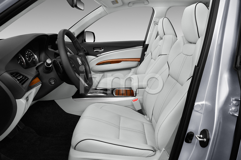 Front seat view of 2017 Acura MDX SH-AWD Advance & Entertainment Package 5 Door SUV front seat car photos