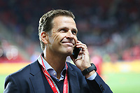 Manager Oliver Bierhoff (Germany)Handy gut gelaunt, Tschechische Republik vs. Germany, Football, WM-Qualifikation, 01.09.2017 *** Local Caption *** © pixathlon<br /> Contact: +49-40-22 63 02 60 , info@pixathlon.de