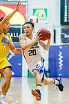 Ng Chung Tsun #20 of Eastern Long Lions dribbles the ball up court against the Winling during the Hong Kong Basketball League game between Eastern Long Lions and Winling at Southorn Stadium on June 01, 2018 in Hong Kong. Photo by Yu Chun Christopher Wong / Power Sport Images