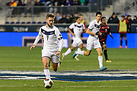 Chester, PA - Friday December 08, 2017: Sam Gainford The Stanford Cardinal defeated the Akron Zips 2-0 during an NCAA Men's College Cup semifinal match at Talen Energy Stadium.