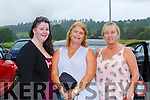 Rebecca Byrne, Sandra Byrne and Ann Lowham Tralee at the  drive in bingo  in Killarney on Sunday evening
