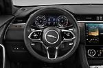 Car pictures of steering wheel view of a 2021 Jaguar F-Pace S 5 Door SUV Steering Wheel