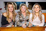 Mary Ellen Donovan, Emma McElligott and Theresa Lee enjoying the evening in Benners Hotel on Friday.