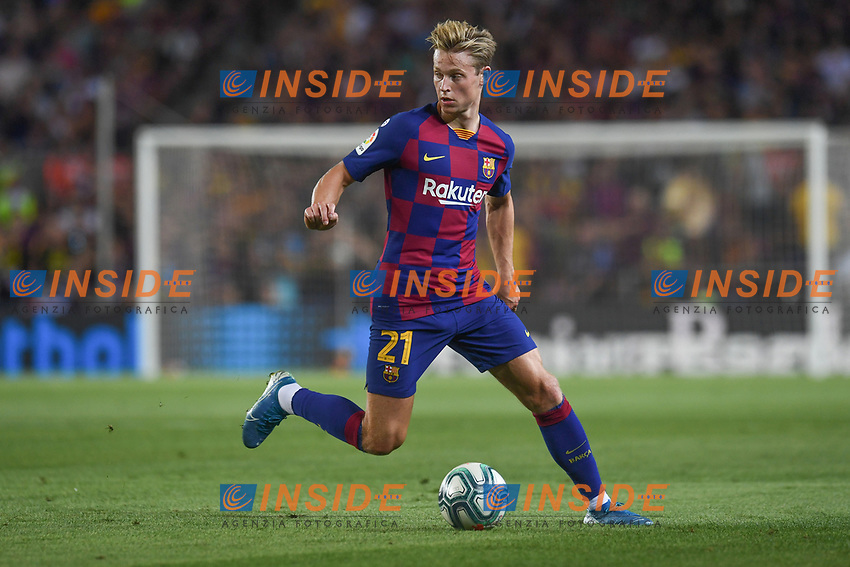 FOOTBALL: FC Barcelone vs Real Betis - La Liga-25/08/2019<br /> Frenkie De Jong (FCB) <br />  <br /> 25/08/2019 <br /> Barcelona - Real Betis  <br /> Calcio La Liga 2019/2020  <br /> Photo Paco Largo/Panoramic/insidefoto