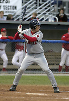 August 7, 2004:  Chuck Jeroloman of the Lowell Spinners, Single-A NY-Penn League affiliate of the Boston Red Sox, during a game at Dwyer Stadium in Batavia, NY.  Photo by:  Mike Janes/Four Seam Images