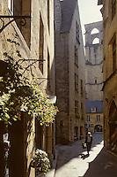 Europe/France/Aquitaine/24/Dordogne/Vallée de la Dordogne/Périgord/Périgord noir/Sarlat-la-Canéda: Rue A. Cahuet