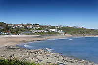 Pictured: Langland Bay near Swansea, Wales, UK. Saturday 12 June 2021<br /> Re: Hot and sunny weather enjoyed in most parts of the UK.