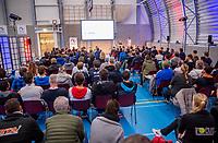 Rotterdam, Netherlands, December 15,  2017, Topsportcentrum,  Coaches Congress <br /> Photo: Tennisimages/Henk Koster