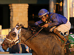 November 6, 2020: Essential Quality, ridden by Luis Saez, wins the TVG Juvenile Presented By Thoroughbred Aftercare Alliance on Breeders' Cup Championship Friday at Keeneland on November 6, 2020: in Lexington, Kentucky. Candice Chavez/Breeders' Cup/Eclipse Sportswire/CSM