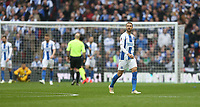 Dejection for Brighton & Hove Albion's Glenn Murray<br /> <br /> Photographer Rob Newell/CameraSport<br /> <br /> Emirates FA Cup Semi-Final - Manchester City v Brighton & Hove Allbion - Saturday 6th April 2019 - Wembley Stadium - London<br />  <br /> World Copyright © 2019 CameraSport. All rights reserved. 43 Linden Ave. Countesthorpe. Leicester. England. LE8 5PG - Tel: +44 (0) 116 277 4147 - admin@camerasport.com - www.camerasport.com
