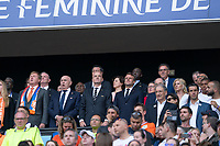 LYON, FRANCE - JULY 07: FIFA President Gianni Infantino during a game between Netherlands and USWNT at Stade de Lyon on July 07, 2019 in Lyon, France.