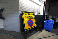 Unused sign due to no fans being able to attend during AFC Wimbledon vs Accrington Stanley, Sky Bet EFL League 1 Football at The Kiyan Prince Foundation Stadium on 3rd October 2020