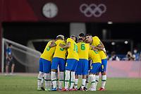 22nd July 2021; Stadium Yokohama, Yokohama, Japan; Tokyo 2020 Olympic Games, Brazil versus Germany; Players of Brazil