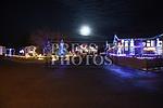 Bettystown Log Cabin Lights 2018