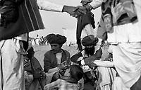 11.2008  Pushkar (Rajasthan)<br /> <br /> Hand checking after bargaining in the camel camp during the annual fair.<br /> <br /> Serrage de mains après négociations sur le camp de chameaux pendant la foire annuelle.