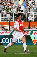 SÃO PAULO,SP, 14 JANEIRO 2011 - AMISTOSO PALMEIRAS X AJAX (HOL)<br /> Bouy jogador do Ajax durante  partida entre as equipes do Palmeiras X Ajax (hol) realizada no  Estádio Paulo Machado de Carvalho (Pacaembu) na zona oeste de São Paulo, neste Sabado (14). (FOTO: ALE VIANNA - NEWS FREE).