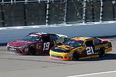 #21: Daniel Hemric, Richard Childress Racing, Chevrolet Camaro South Point Hotel & Casino #19: Brandon Jones, Joe Gibbs Racing, Toyota Camry Game Plan For Life