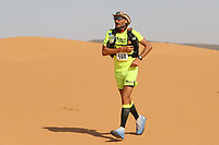 5th October 2021; Kourci Dial Zaid to Jebel El Mraier ; Romuald LEFOULON (fra) Marathon des Sables, stage 3 of  a six-day, 251 km ultramarathon, which is approximately the distance of six regular marathons. The longest single stage is 91 km long. This multiday race is held every year in southern Morocco, in the Sahara Desert.