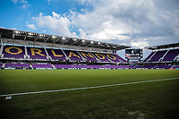Orlando, FL - Friday Oct. 06, 2017: Orlando City Stadium during a 2018 FIFA World Cup Qualifier between the men's national teams of the United States (USA) and Panama (PAN) at Orlando City Stadium.