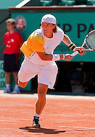24-05-10, Tennis, France, Paris, Roland Garros, First round match,    Luczak
