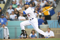05/09/12 Los Angeles, CA: Los Angeles Dodgers right fielder Andre Ethier #16 during an MLB game played between the San Francisco Giants and Los Angeles Dodgers at Dodger Stadium