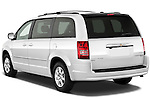 Rear three quarter view of a 2010 Chrysler Town and Country Touring