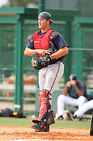 March 22nd 2008:  Clint Sammons of the Atlanta Braves minor league system during a Spring Training camp day at Disney's Wide World of Sports in Orlando, FL.  Photo by:  Mike Janes/Four Seam Images