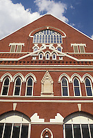 AJ4157, Nashville, Ryman Auditorium, Country music, Tennessee, Ryman Auditorium former home of the Grand Ole Opry in Nashville in the state of Tennessee.