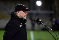 26 February 2021; Ulster Head Coach Dan McFarland the Guinness PRO14 match between Ulster and Ospreys at Kingspan Stadium in Belfast. Photo by John Dickson/Dicksondigital