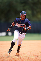 GCL Braves right fielder Anthony Concepcion (38) running the bases during a game against the GCL Blue Jays on August 5, 2016 at ESPN Wide World of Sports in Orlando, Florida.  GCL Braves defeated the GCL Blue Jays 9-0.  (Mike Janes/Four Seam Images)